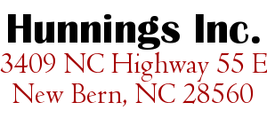 Hunnings Inc.